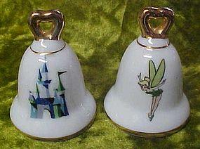 Disney souvenir shakers, TInkerbell and magic Kingdom