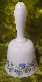 Crown Staffordshire Bluebell bone china dinner bell,