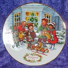 Avon 1991 Christmas Plate, Perfect Harmony, with box