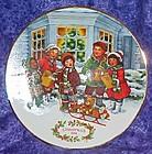 Avon 1991 Christmas Plate, Perfect Harmony, with box