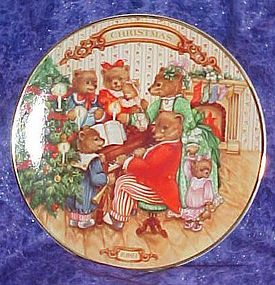 Avon 1989 Christmas plate, Together for Christmas