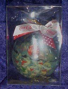 Coca Cola Polar bears Christmas ornament