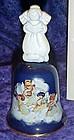 Avon Heavenly Notes 1991 porcelain Christmas bell