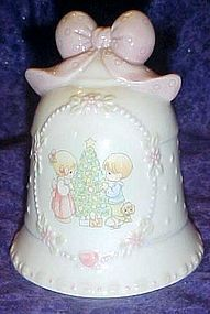 Avon Precious Moments  porcelain Christmas bell