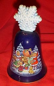 Avon porcelain Christmas bell 1987