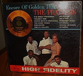 The Platters Encore of Golden Hits 33 1/3 Lp album