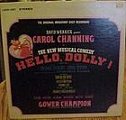 Original soundtrack Carol Channing's Hello Dolly album