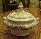 Vintage hand painted ,covered casserole, Bonwelo