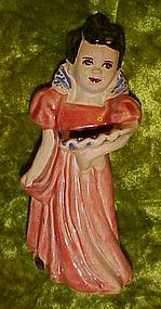Vintage Goldammer Mexican Spanish girl planter vase