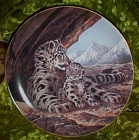 The Snow Leopard plate, Will Nelson W S George