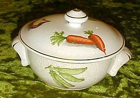 Vintage Oven to Table ware, small casserole, vegetables
