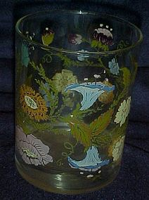 "Federal Glass Dorothy Thorpe rocks glass 4 1/4"" tall"