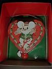 Kurt Sadler merry Chrismouse heart cupcake ornament