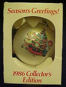 Campbell's soup 1986 collectors Christmas ornament