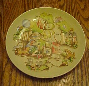 Watkins Country kids collector plate Good Friends are..