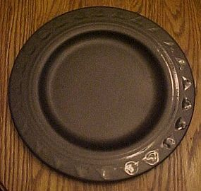 Pfaltzgraff Midnight Brown dinner plate 10.5""