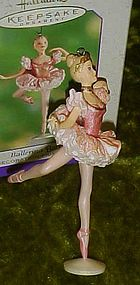 Hallmark Keepsake Ballerina Barbie ornament 2000