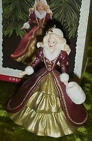 Hallmark Keepsake Holiday Barbie ornament  1996