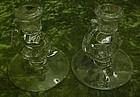 Fostoria Century candle holder pair