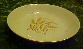 homer Laughlin Golden Wheat  cream soup bowl 7 5/8""