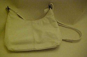 Vintage Coletta supple white leather purse