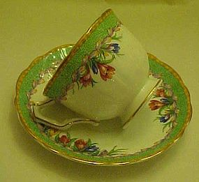 Vintage Anysley bone china tea cup and saucer set