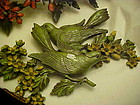 Vintage Home Interiors Branches and birds Syrocco wall