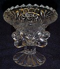 Hofbauer Byrdes crystal toothpick holder three birds