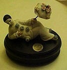 Limited Edition musical Mime  music box Ellen Williams