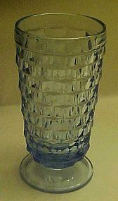 Colony Whitehall footed blue tumbler