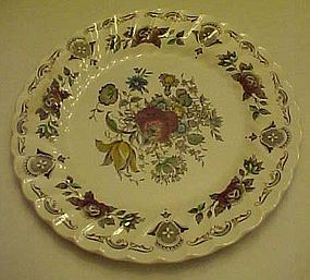 Myott Staffordshire Bouquet multi color Dinner plate