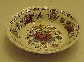 Myotts Staffordshire Bouquet fruit sauce bowl 4 7/8""