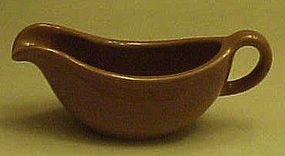 Restaurant china creamer or sauce boat