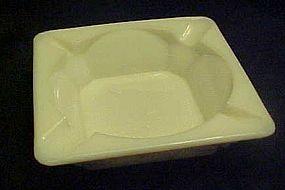 """Westmoreland paneled grape milk glass ashtray 5"""" med"""