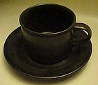 Pfaltzgraff Tempest cup and matching saucer