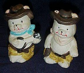 Rootin Tootin Cowboy teddy bear shakers