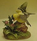 Andrea by Sadek Goldfinch on thistle figurine 6564