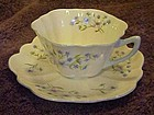 Shelley Blue Rock 13591 Cudlow cup and saucer