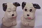 Vintage Rio Hondo dog salt and pepper shakers