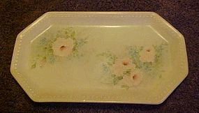 Old Schirnding Bavairia Hand painted floral tray 2830