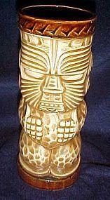 Vintage OMC Tiki Totem drink glass