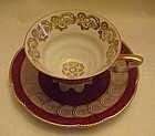 Old Mitterteich Bavaria Germany cup and saucer