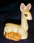 California Pottery Rio Hondo doe and fawn figurine