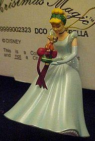 Disney Christmas Magic Cinderella ornament MIB