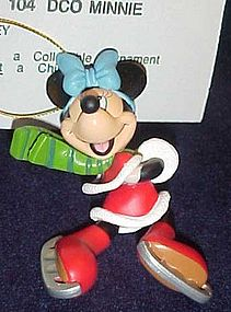 Christmas Magic Minnie Mouse ornament MIB