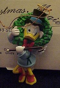 Disney Christmas Magic ornament Scrooge MIB