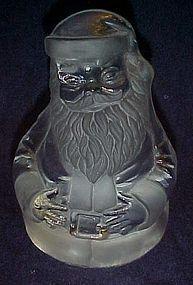 Hand Made Viking Glass Santa Claus