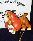 Disney Christmas Magic lady ornament MIB