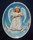 Sandra Kuck  angel collectors plate Wings of wonder