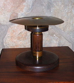 Rare Charles Rohlfs Mahogany and Brass Candle Holder